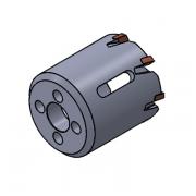 Коронка для врезки в трубопроводы, 47 мм