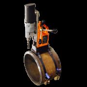 Адаптер для крепления магнитного сверлильного станка на трубы. АКСТ 2
