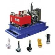 ГНС-167ДР Мобильный и стационарный комплекс для откачки жидкостей и ведения аварийных работ